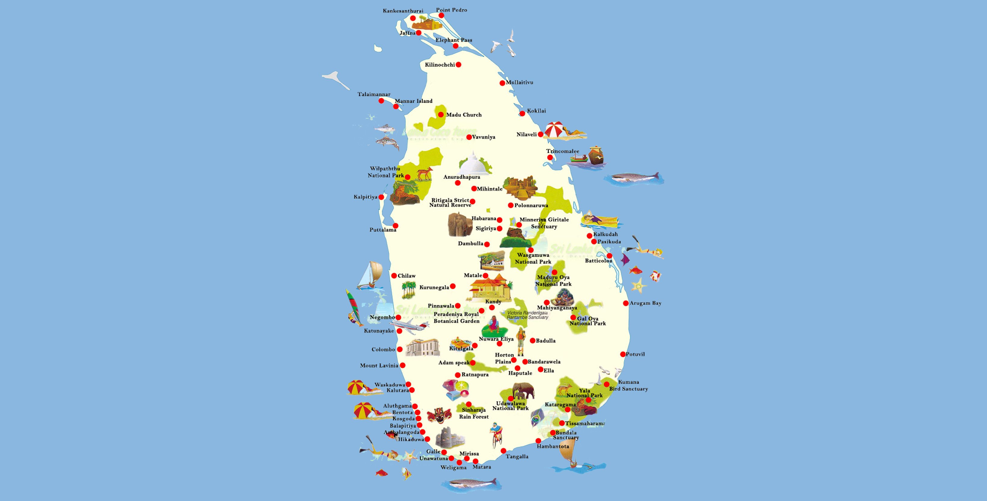 srilanka-tour-map